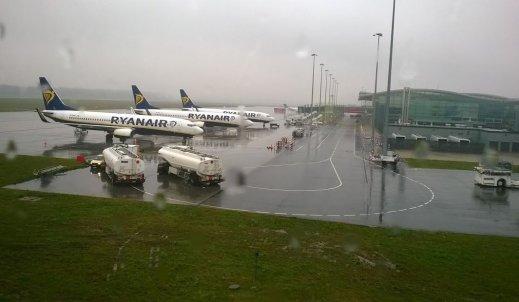 Wycieczka na lotnisko